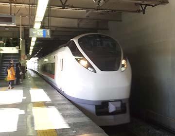 乗る電車です~