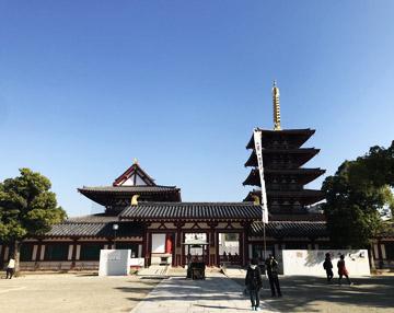 本堂と五重塔