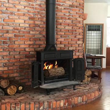 暖炉っていいね